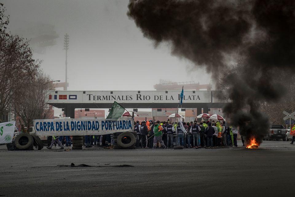 Puerto Buenos Aires: incertidumbre por disputa gremial